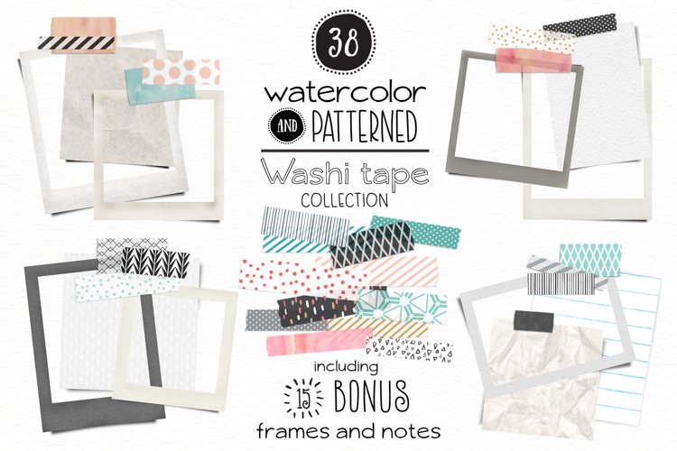 Washi Tape  Frames and Notes example image 1