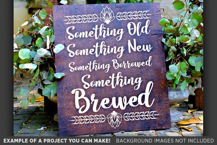 Something Old Something New Wedding SVG File - 5505 example image 1
