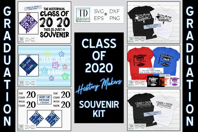 Graduating Class of 2020 History Makers Souvenir SVG Bundle