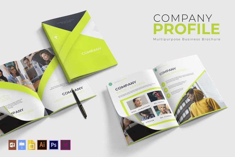 Company Profile | Brochure Template example image 1