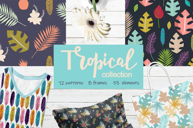Tropical collection example image 1