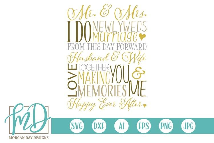 Engagement - Love - Husband Wife - Wedding Subway Art SVG