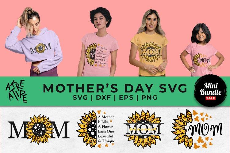 Sunflower Mom Sublimation SVG | Sunflower Mom Bundle SVG