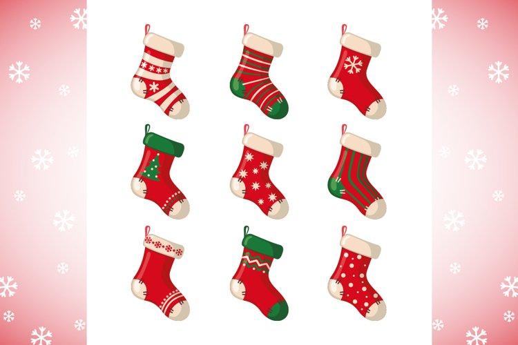 Set of Christmas Socks example image 1