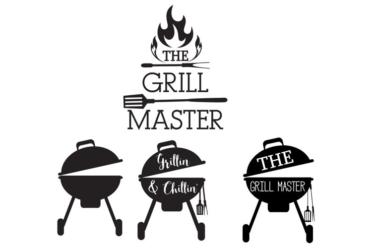 The Grill Master Svg