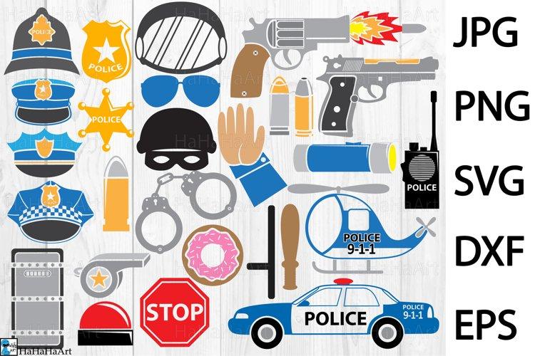 Fun Police - Clip art / Cutting Files 325c