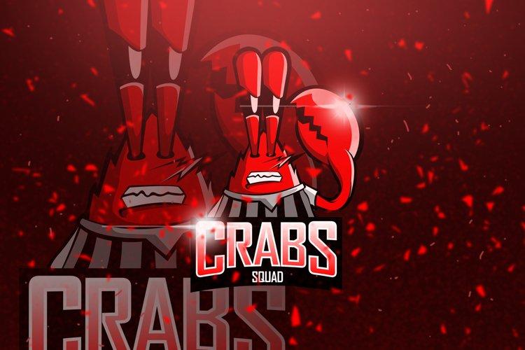 Crabs - Mascot & Esport Logo example image 1