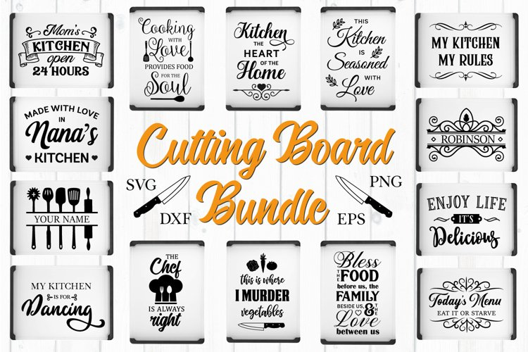 Cutting Board Quotes Bundle - SVG, PNG, DXF, EPS