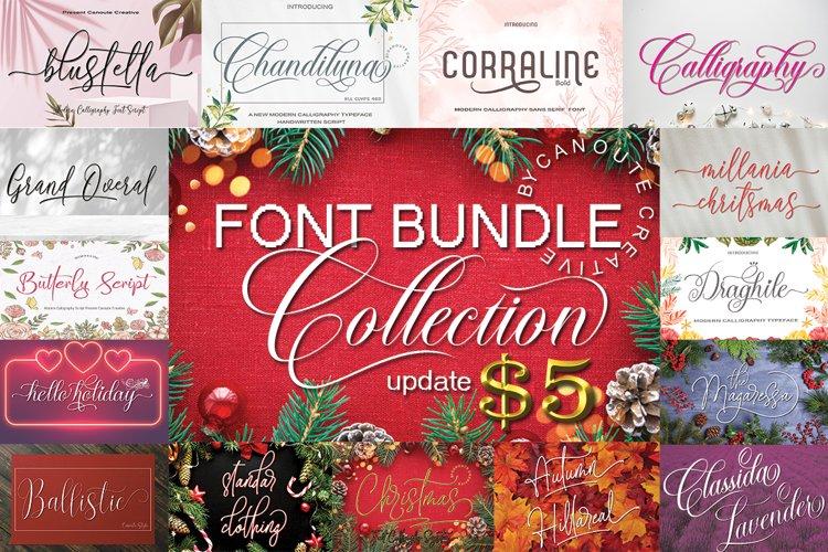 Font Bundle Collection