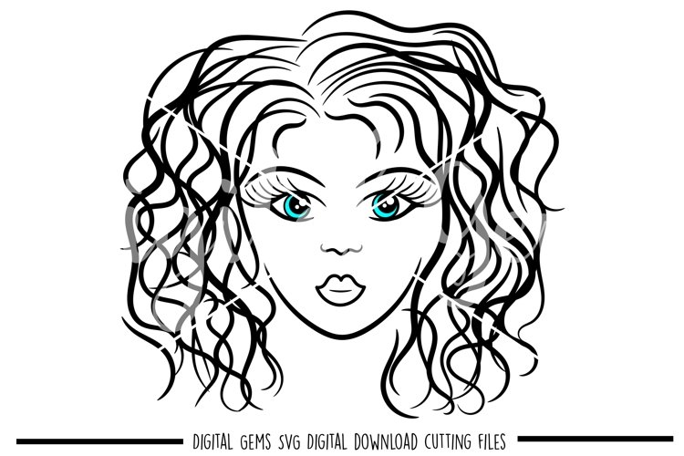 Girl SVG / PNG / EPS / DXF files