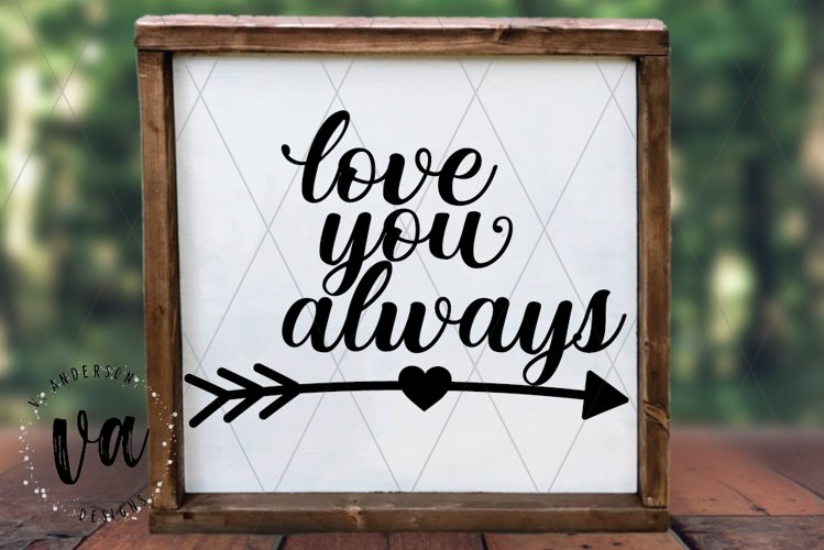 Love You Always SVG example image 1
