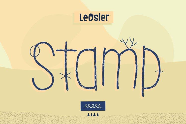 LeOsler Stamp example image 1