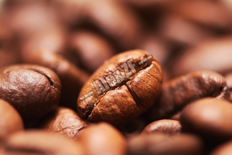 Coffee beans closeup example image 1