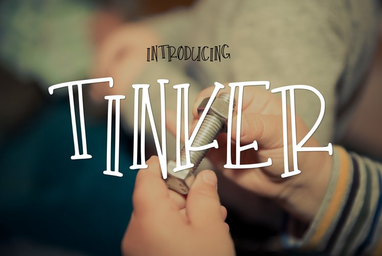 Tinker - Free Font of The Week Font