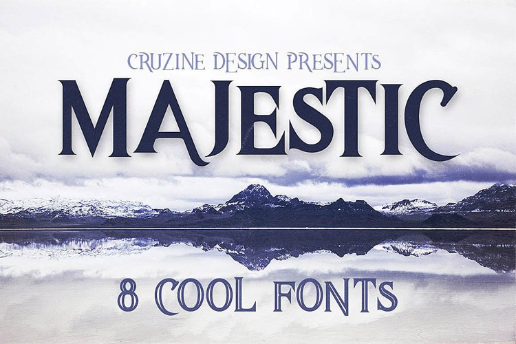 Majestic Typeface example image 1