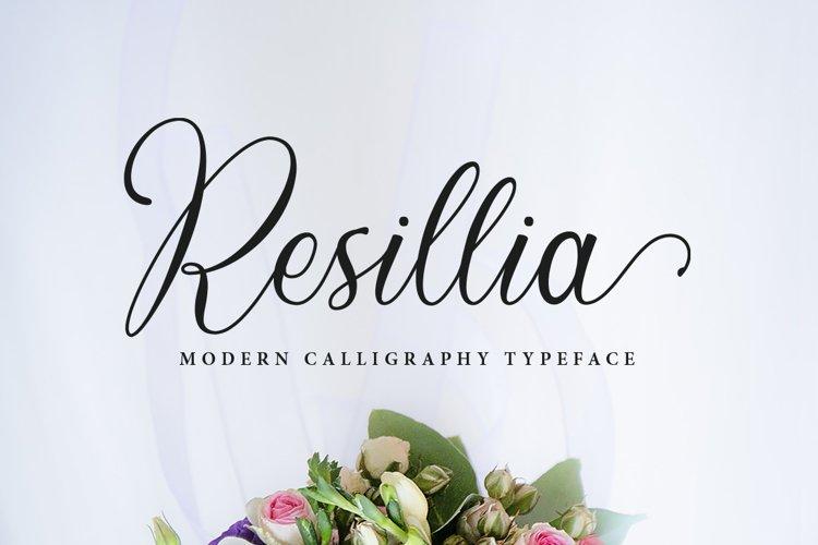 Resillia Script 30 OFF example image 1