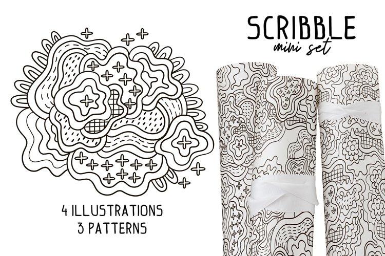 SCRIBBLE mini set