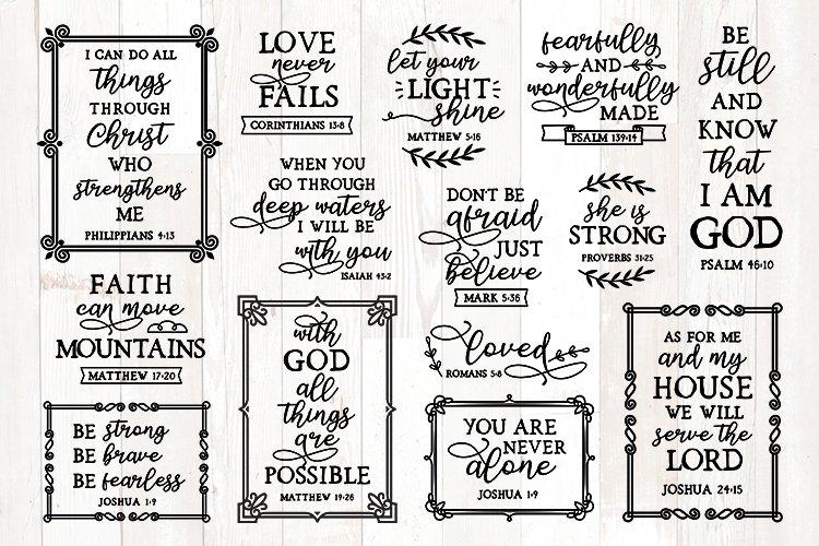 bible verses svg bundle, christian svg bundle, quotes bundle example image 1