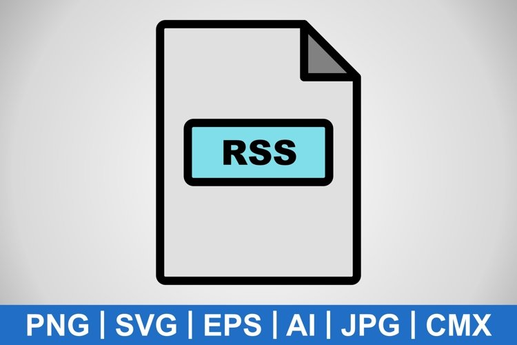 Vector RSS Icon example image 1