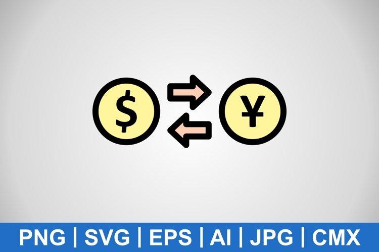 Vector Exchange rate Icon example image 1