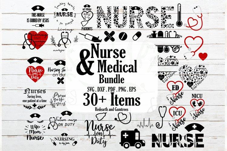 Nurse and Medical bundle, Nurse quotes SVG,PNG,DXF,EPS,PDF