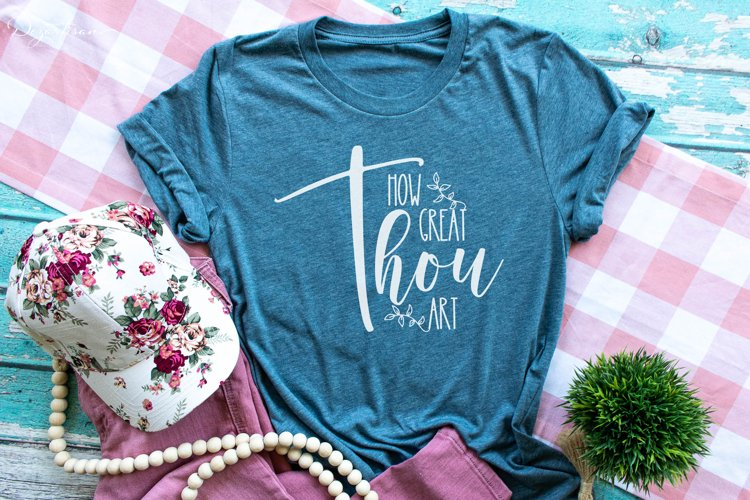 How Great Thou Art Christian SVG | DXF