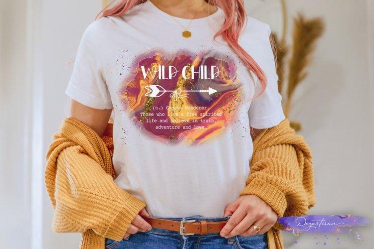 Wild Child Boho Arrow Adventure Love Truth Free Spirited example image 1