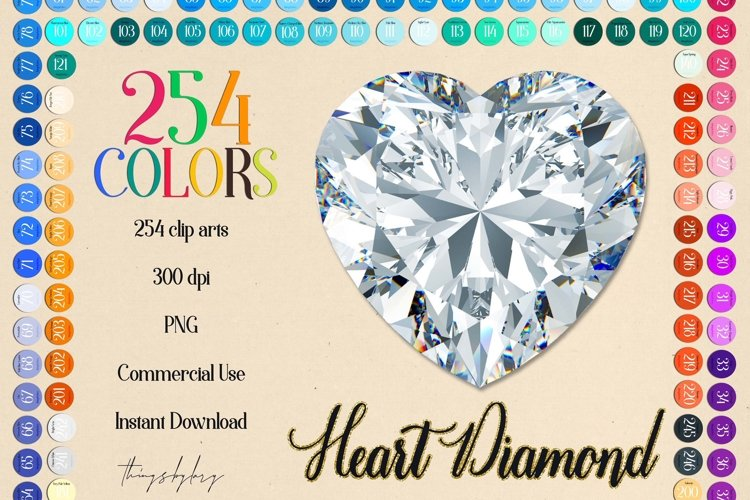 254 Real Heart Diamond Clip arts PNG Transparent Valentine example image 1