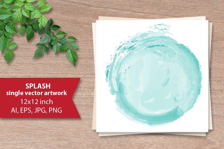 Splash - single vector artwork example image 1