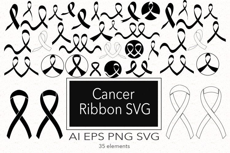 Cancer Ribbon SVG