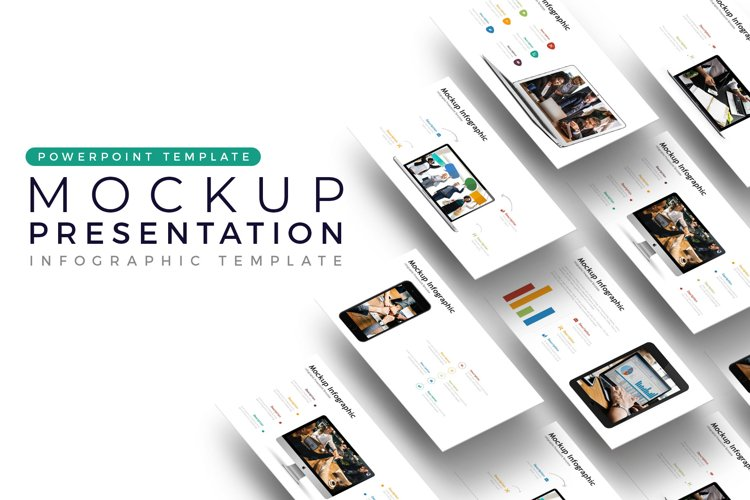 Mockup Presentation - Infographic Template example image 1