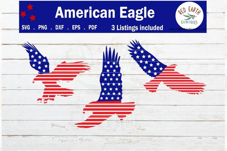 American flag eagles bundle svg, patriotic eagles svg