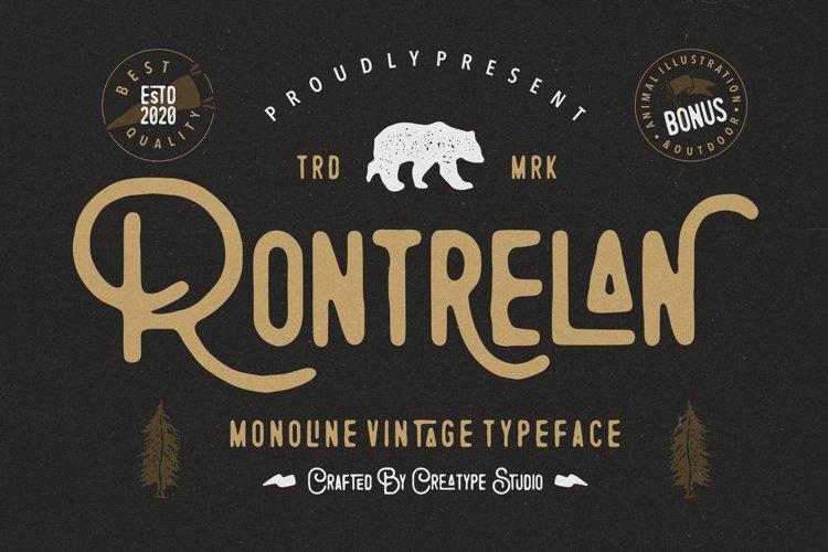 Rontrelan Monoline Vintage example image 1