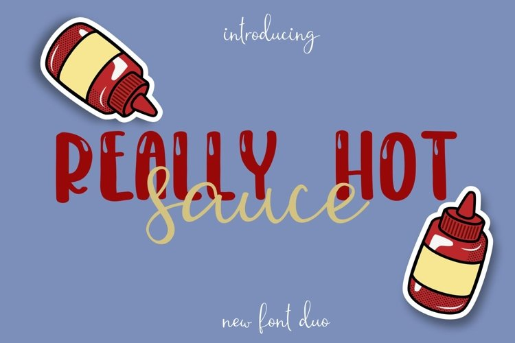 Web Font Really Hot Sauce example image 1