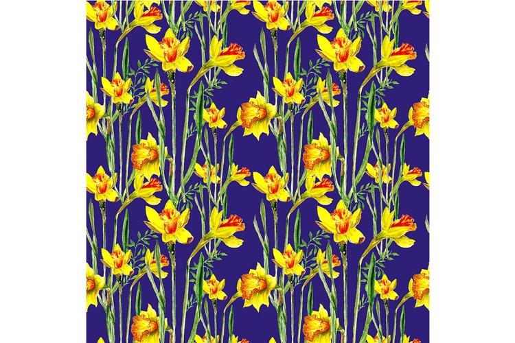 Seamless spring pattern example image 1