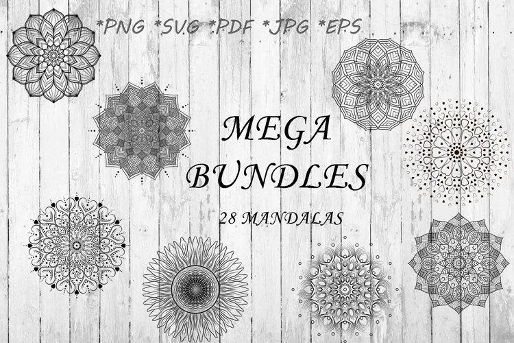 The Mega Bundle Mandalas SVG