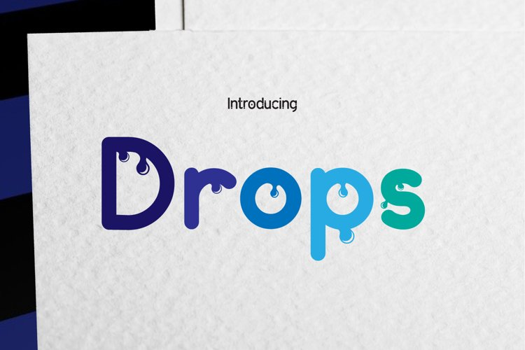 Drops example image 1