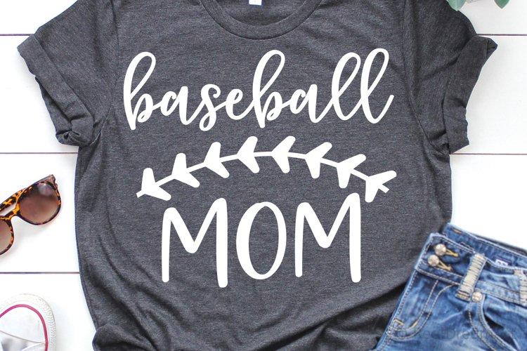 Baseball Mom SVG, DXF, PNG, EPS