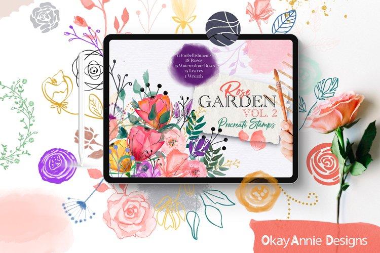 Rose Garden Stamp Pack Vol. 2 for Procreate