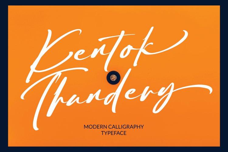 Kentok Thundery example image 1
