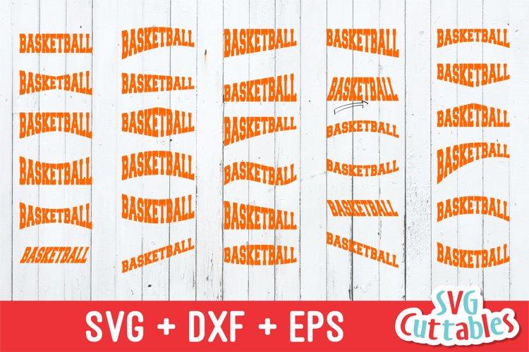 Basketball SVG   Basketball Layouts example image 1