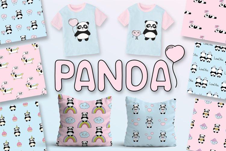 Cute Panda example image 1