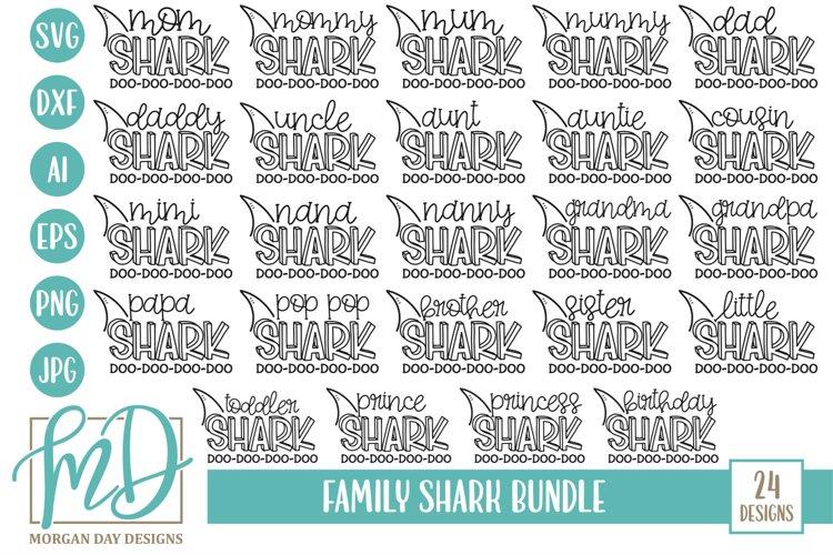 Shark Family Bundle SVG