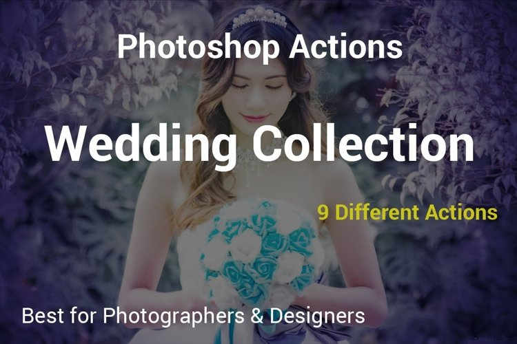 Wedding Collection - PS Actions example image 1