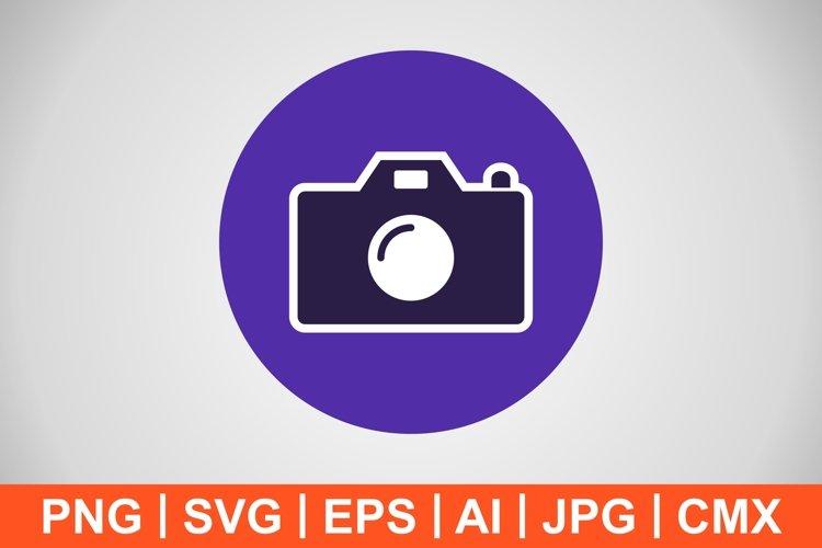 Vector Camera Icon example image 1