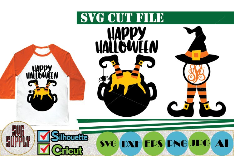 Happy Halloween SVG Cut File example image 1