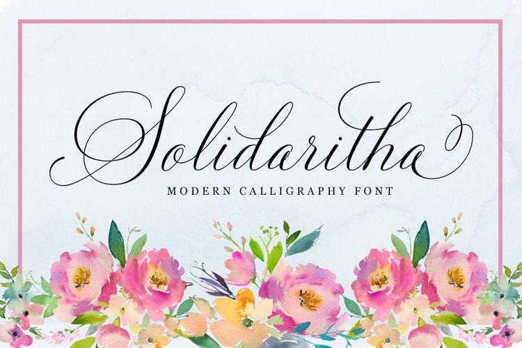 Solidaritha Script example image 1