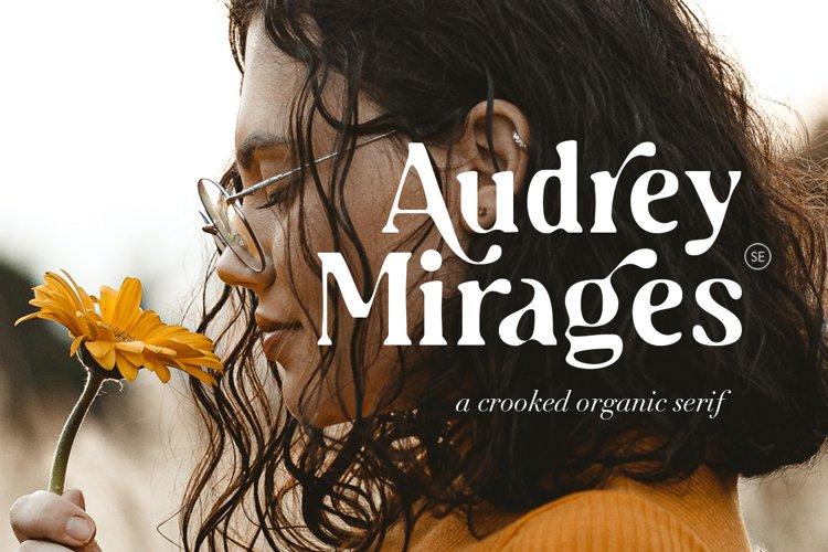 Audrey Mirages - Organic Serif example image 1