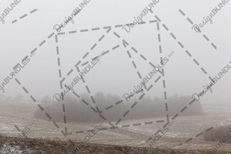 Winter landscape blizzard example image 1