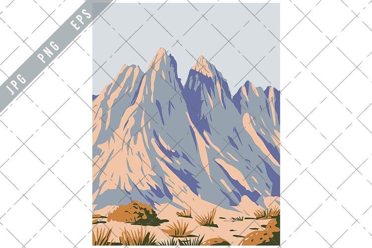 Organ Mountains-Desert Peaks National Monument WPA Poster